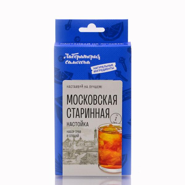 Московская старинная настойка . Набор трав и специй. Box