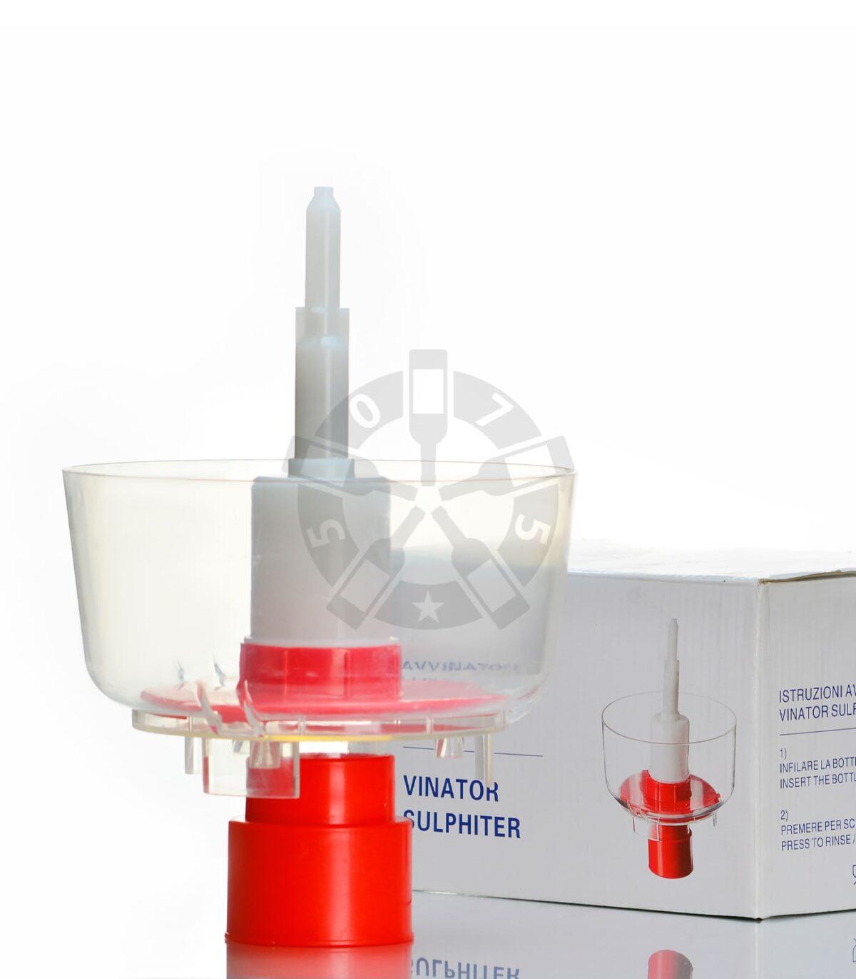 Устройство для мойки и ополаскивания бутылок, модель VINATOR