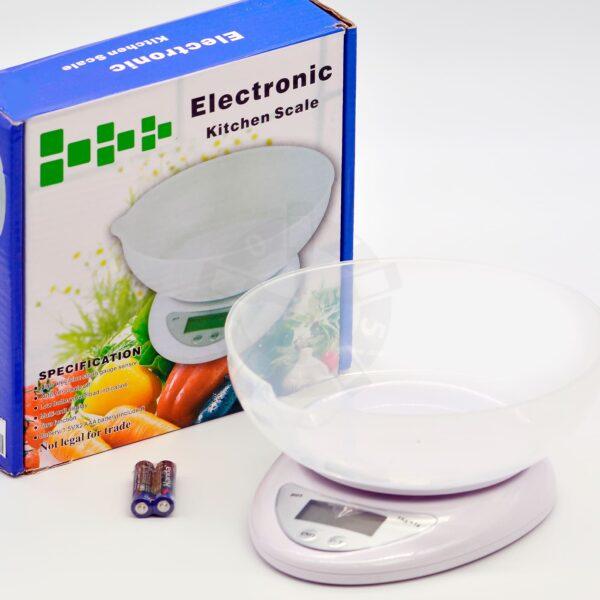 Весы электронные с чашей 5000 г, точность 1 г