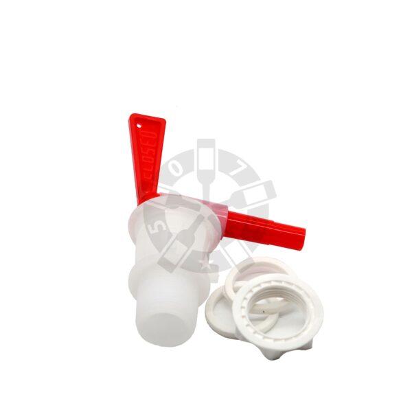 Кран пластиковый 3/4 без насадки-дрожжеуловителя