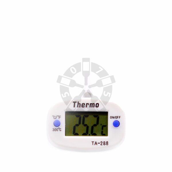 Цифровой термометр со щупом ТА-288, длинна 14 см, толщина 4 мм.