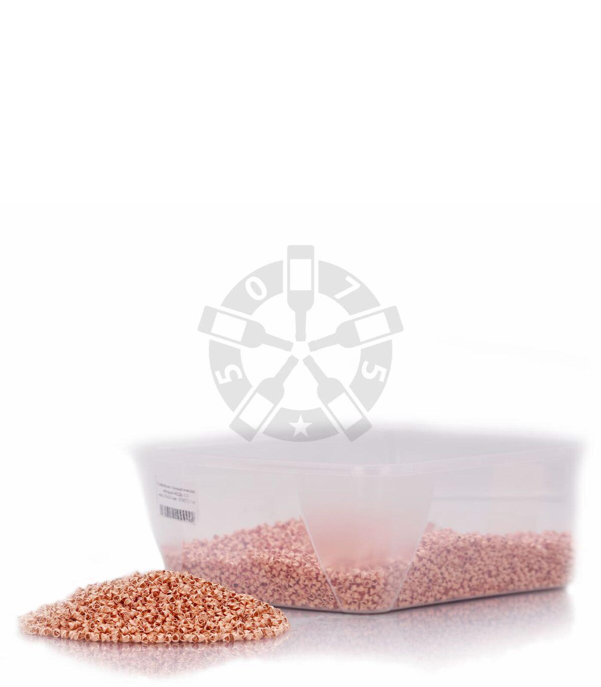 Спирально призматическая насадка МЕДЬ 0.3 мм,3.5х3.5 мм (ГОСТ) 1 кг