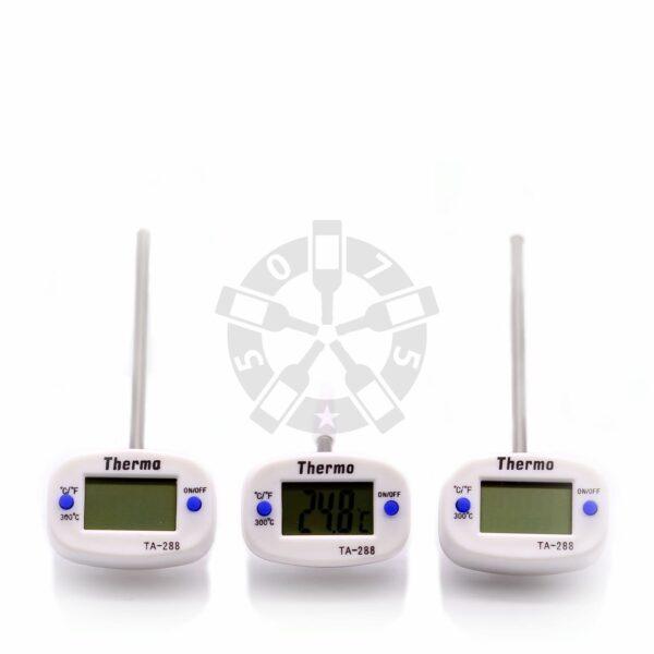 Цифровой термометр со щупом ТА-288, длина щупа 4 см