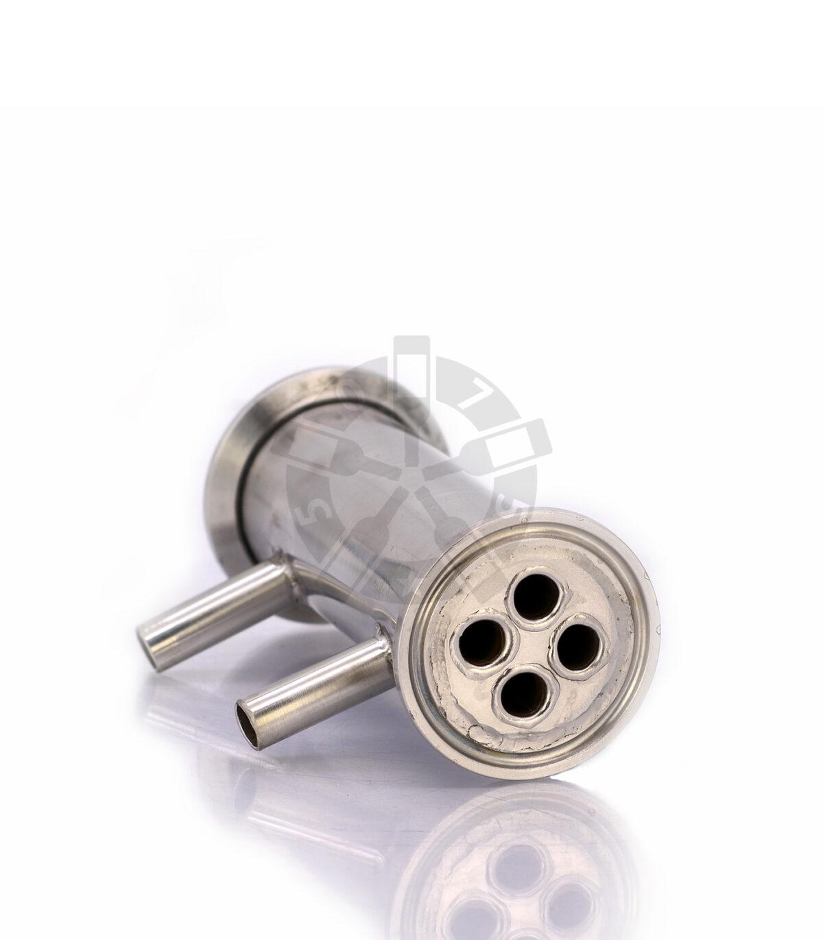 Дефлегматор трубчатый (длина 10 см, подключение 10 мм, 4 нитки) DN1.5
