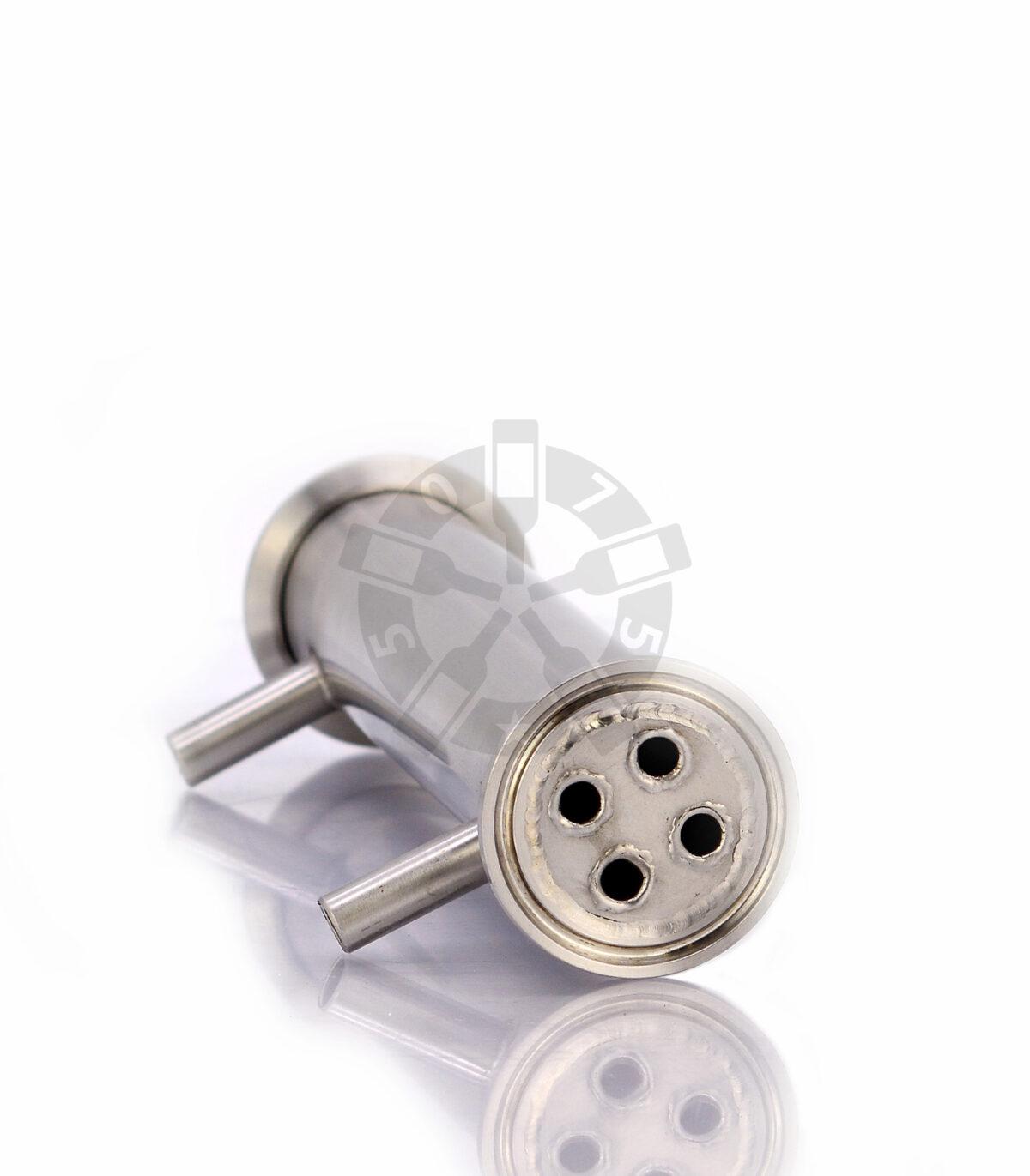Дефлегматор трубчатый (20 см, 10 мм штуцер, 4 нитки) DN1.5