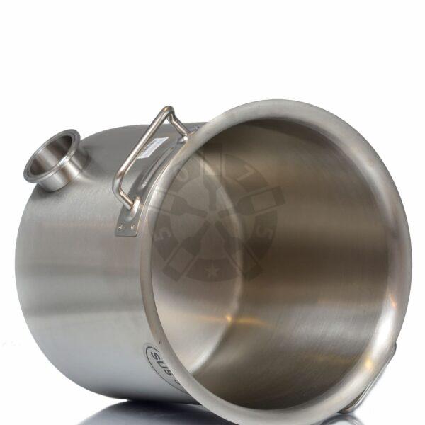 Перегонный куб 12 л (304 сталь), без крышки + выход под ТЭН